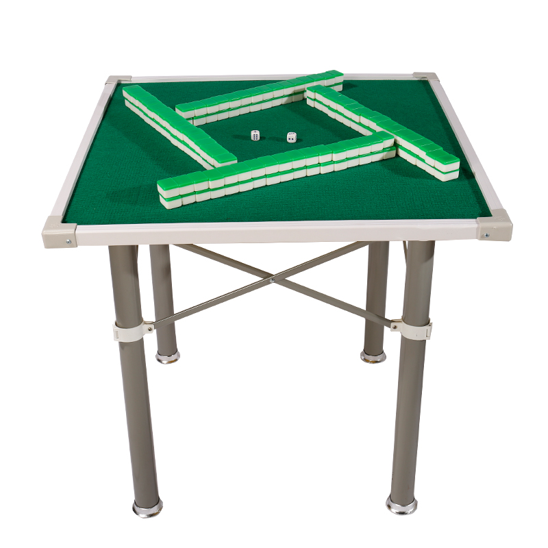 Household Mahjong Table Board Hand Mahjong Table Dual Use Table Chess Table  Portable Folding Mahjong Table