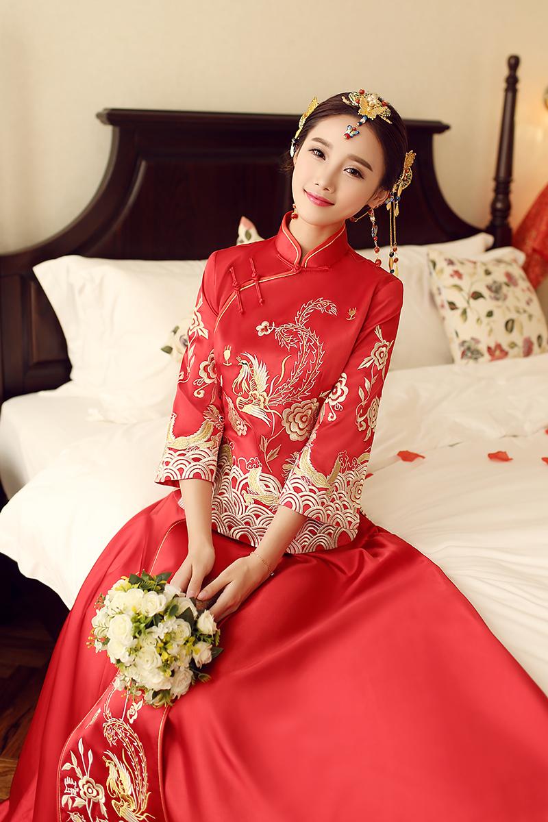 中国新娘礼服(六) - 花雕美图苑 - 花雕美图苑