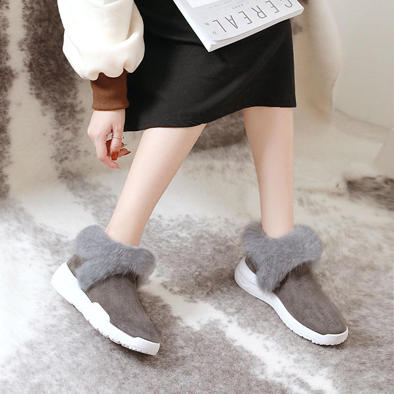 美着新款【街拍女鞋】短筒雪地靴