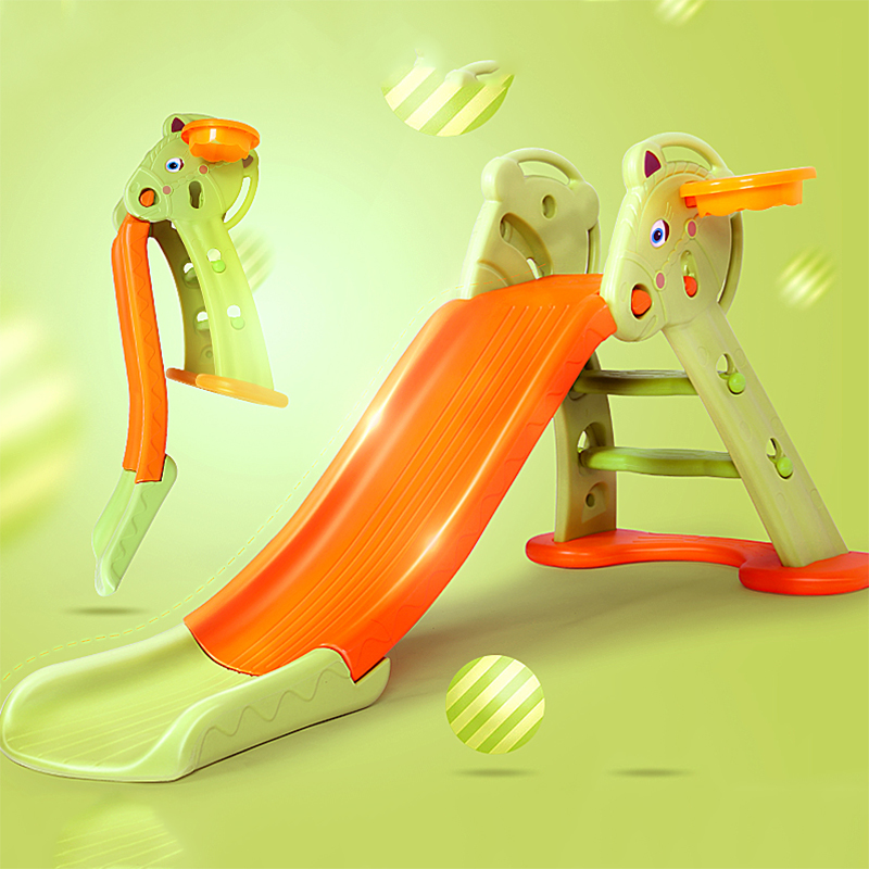 Korean Version Of The Childrenu0027s Indoor Slides Thickened Small Slide  Household Multifunctional Baby Slide Combination Toy Extra Long