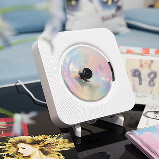 Portable Bluetooth CD Wall Hanging DVD Player Student English VCD Plate CD Album Home Retro