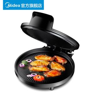 美的電餅鐺電餅檔家用雙面加熱烙餅鍋正品自動斷電新款加深煎餅機