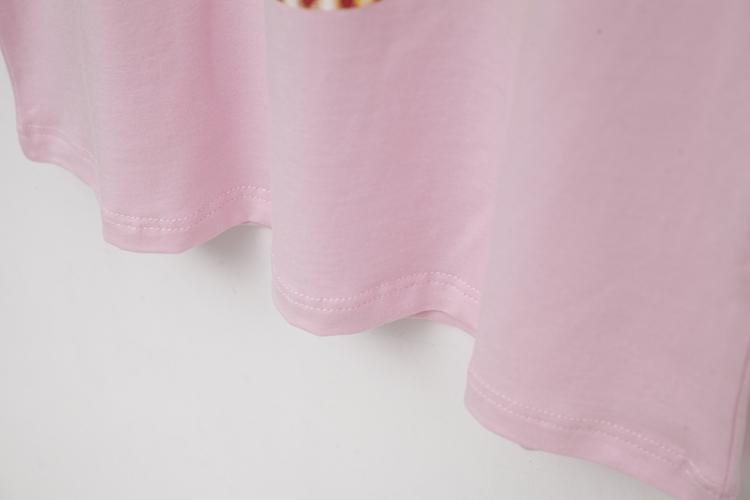 破产姐妹Max Caroline同款cupcake日本元素萌妹奶油蛋糕T恤闺蜜装
