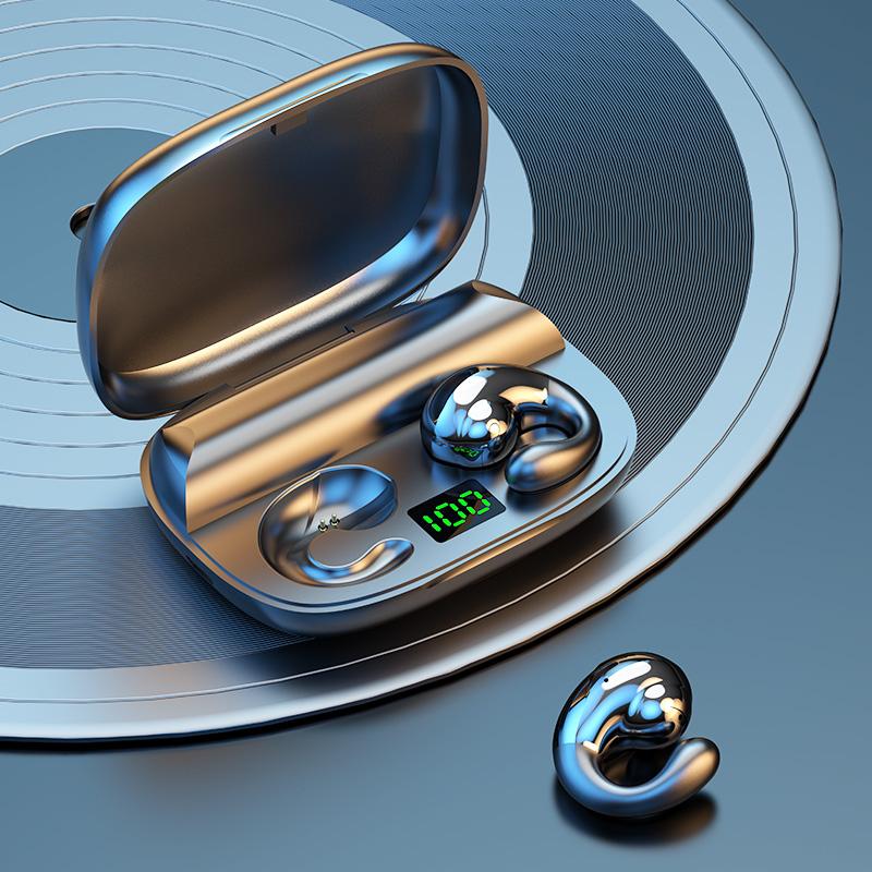不入耳真无线蓝牙耳机双耳运动跑步微小型挂耳式骨传导高端2021年新款久戴不痛适用苹果华为oppo超长续航待机