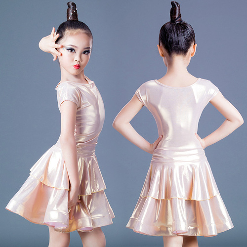 Girls Latin Dance Dresses Latin dance clothing children professional competition for girls