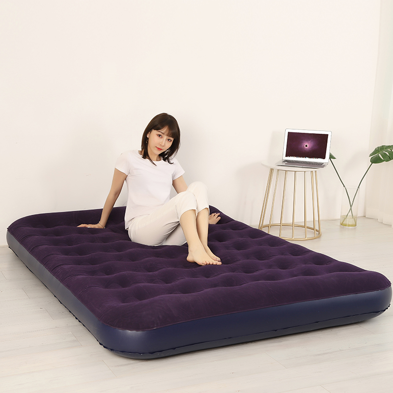 Inflatable mattress family bedroom air cushion bed plus thick outdoor portable sheets double sleeping mat lunch break bed 15m
