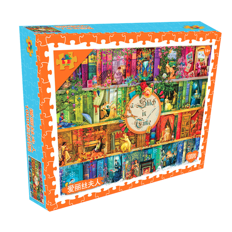 Mrs. Alice - 1000 Tablets Puzzle Version