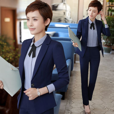 2018 New Fashion Professional Wear Women S Suits Dress Autumn