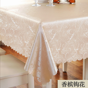 [selection materials] table cloth, waterproof tea table, anti oil oil cloth art.