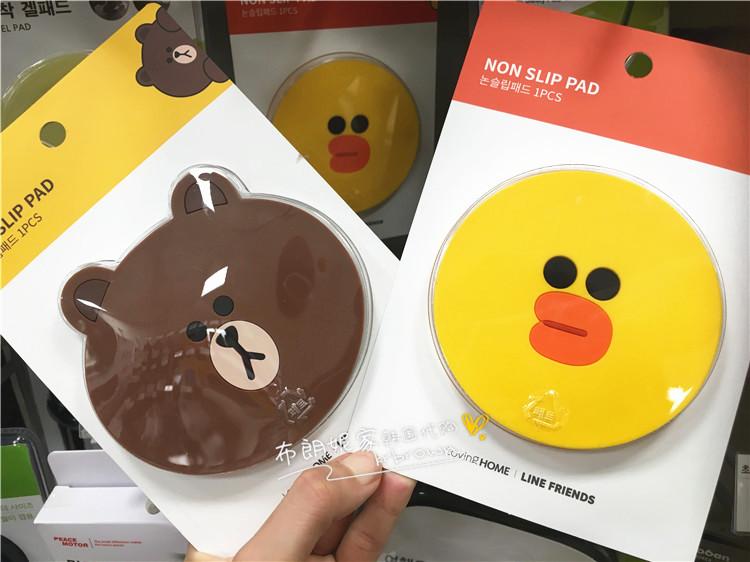 Корея покупка LINE FRIEDNS x emart бурый медведь автомобиль в правила поведения мат автомобиль скольжение паста