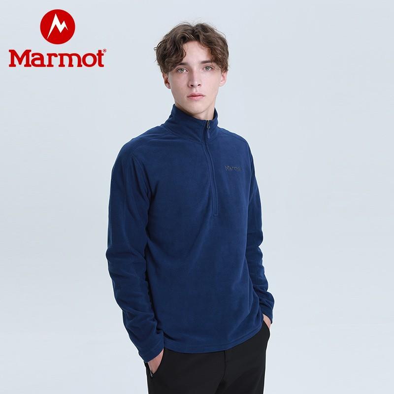 0点开始限5分钟 Marmot 土拨鼠 H83595 男式户外运动抓绒夹克 下单折后¥199包邮 3色可选