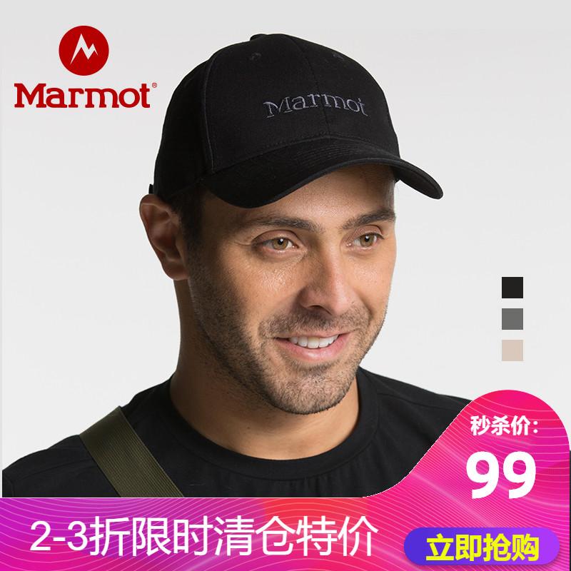 Marmot 土拨鼠 19年新款 男女通用 棒球帽鸭舌帽 R15090 聚划算+天猫优惠券折后¥89包邮(¥99-10)多色可选