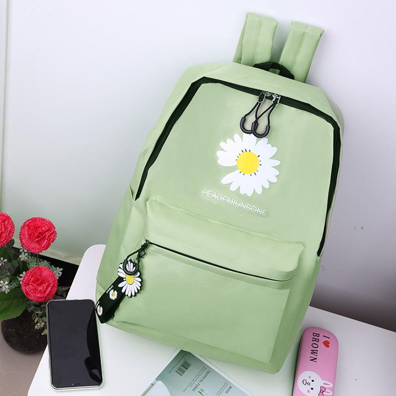 男女通用学生书包双肩包包2020新款潮大容量牛津布帆布高中生背包