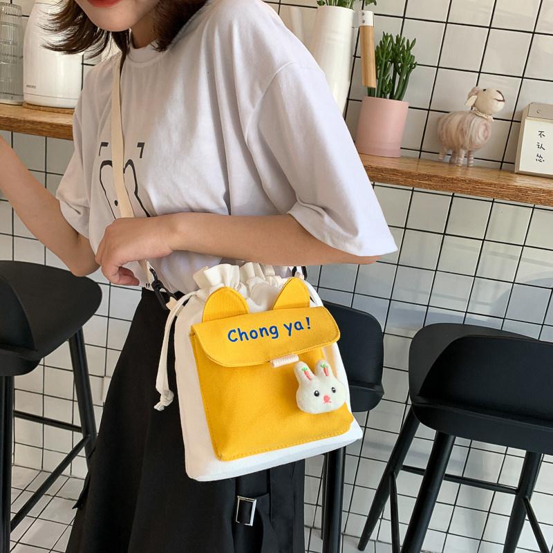 可爱包包2020新款潮学←生斜挎包