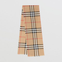 BURBERRY / Burberry Plaid Silky blended scarves 80,184,681