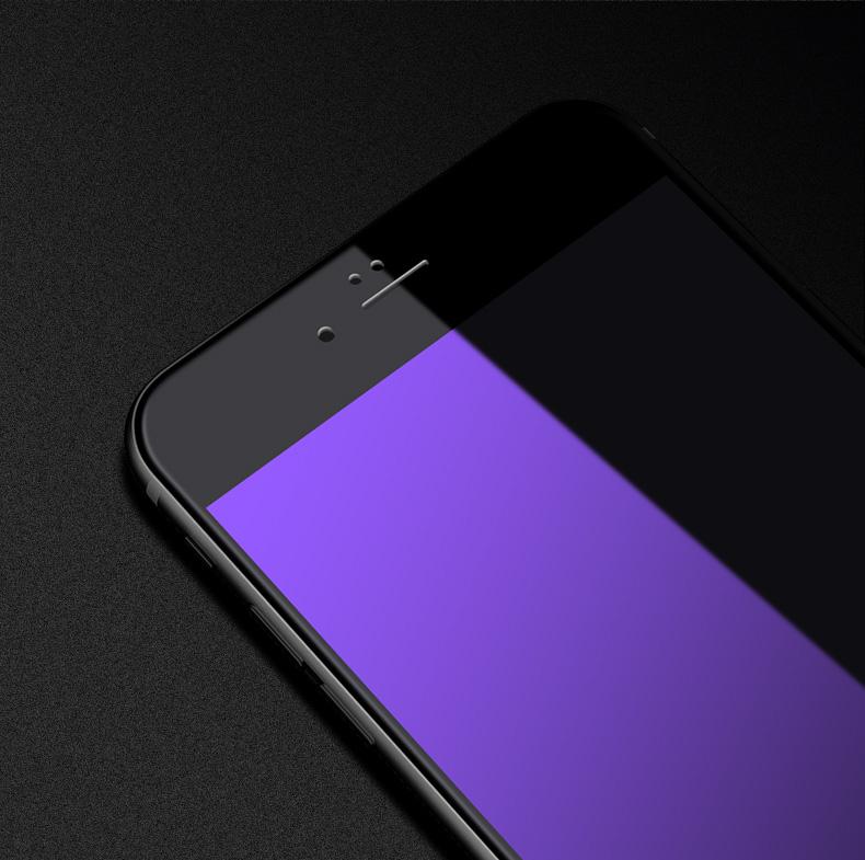 苹果钢化膜全屏覆盖抗蓝光高清手机全包边软边六防摔防指纹寸屏保详细照片