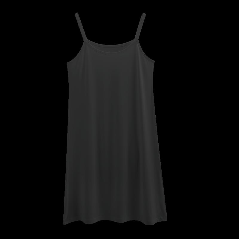 Топы/майки Подкладка под юбку модальные анти-опорожняется юбки жира мм большой ярдов длинный участок Тип в долгий путь сарафаны женские летние