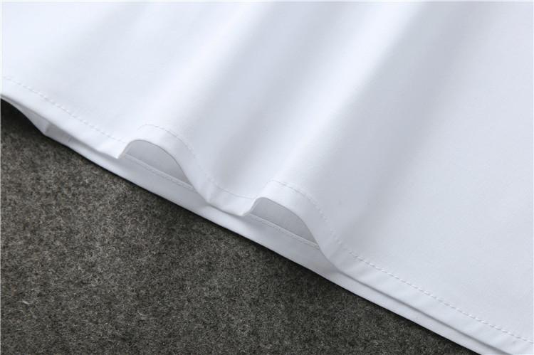 爱上特种兵李沁夏初同款上衣洋气时尚百搭白色泡泡袖一字领衬衫女