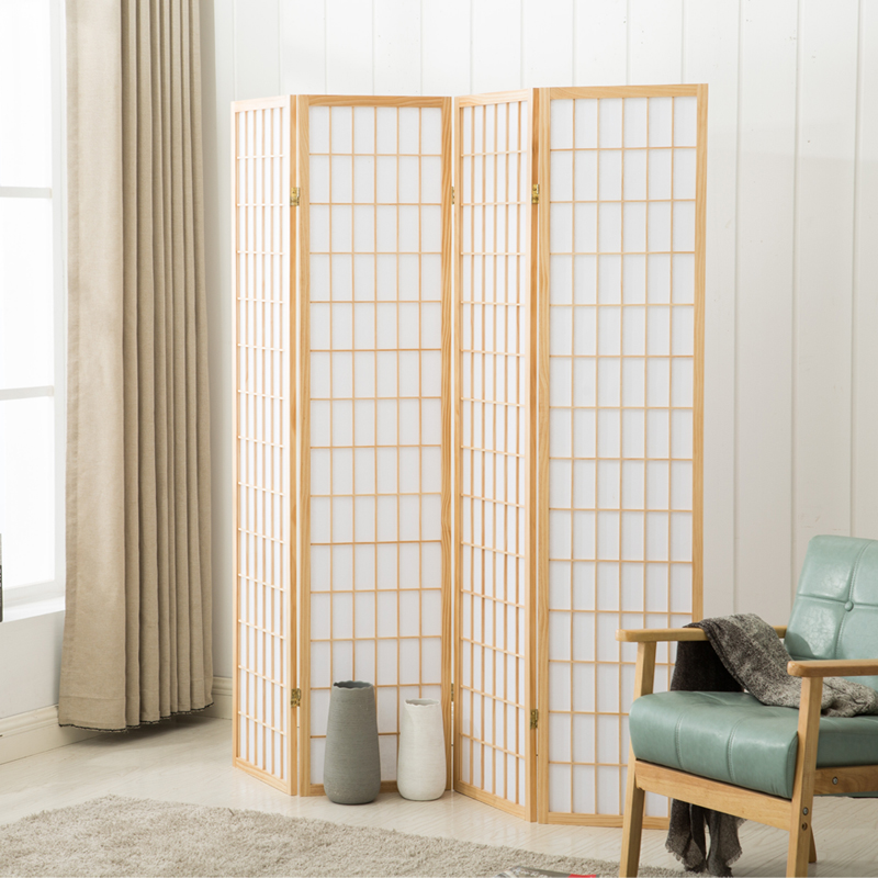 USD 10.66] Japanese screen partition folding screen vestibule living ...