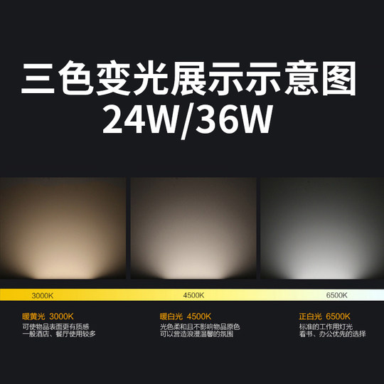 Sunshine LED ceiling lamp transformation lamp strip replacement lamp energy-saving wick super bright lap circle patch light source