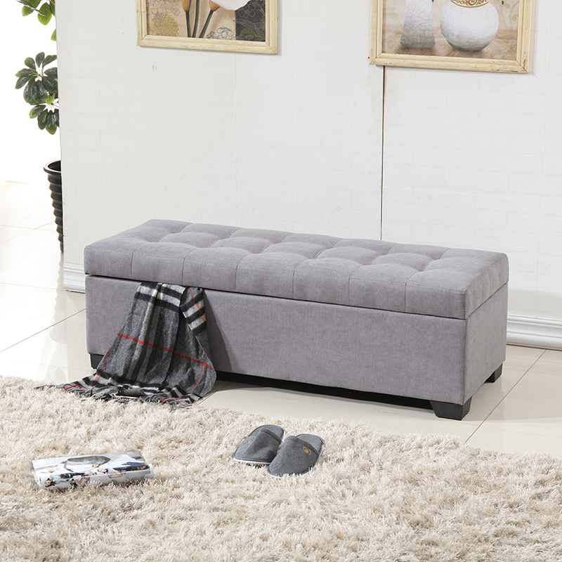 Fashion Cloth Shoes Wearing Cabinet Test Bench Clothing Storage Small Sofa