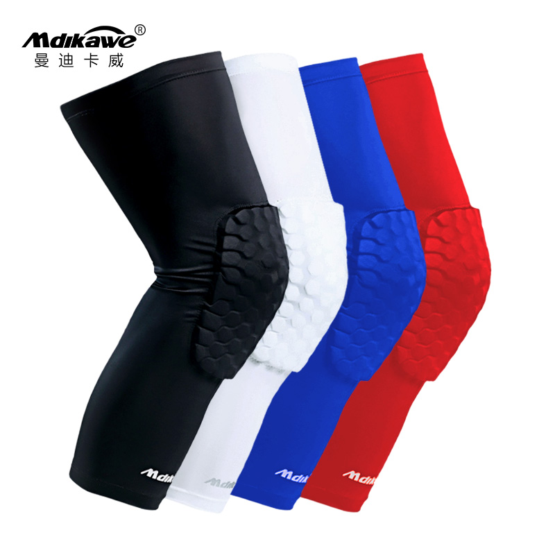 ef9ce1e7540b8 Basketball knee pads honeycomb anti-collision male professional ...