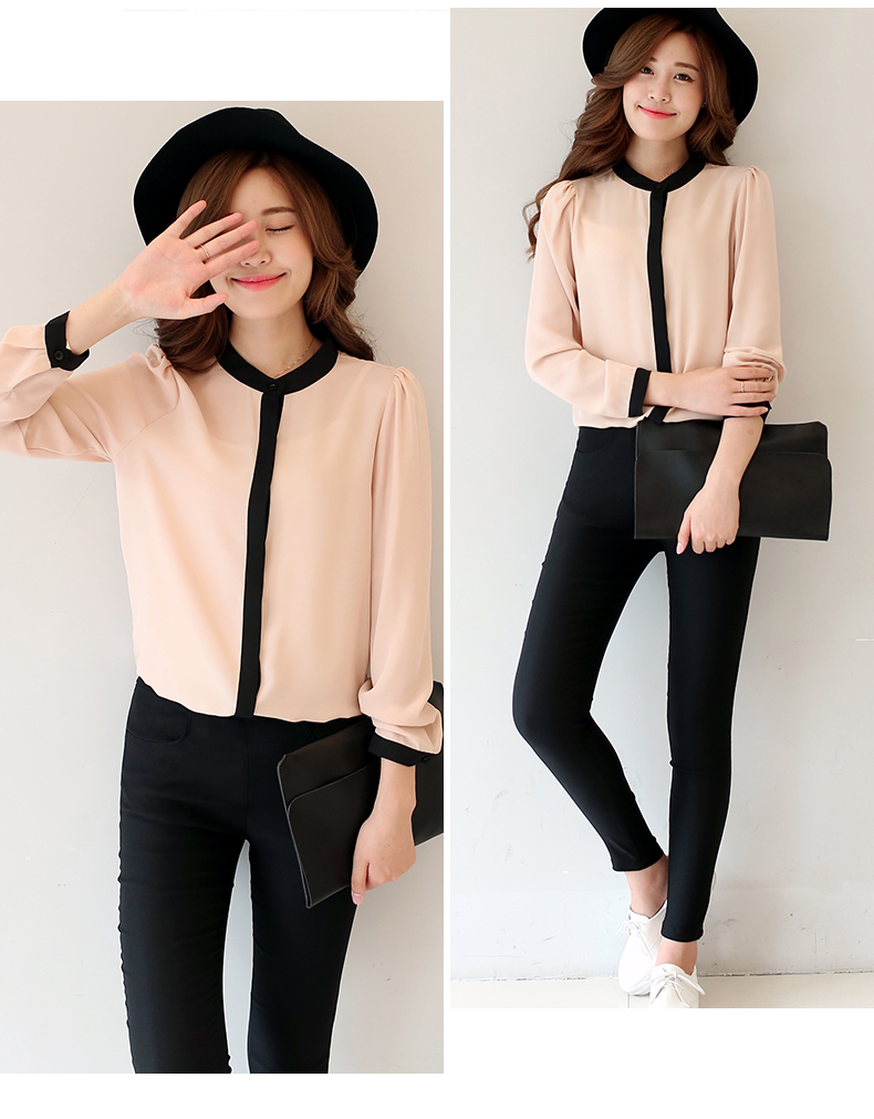 Jys Fashion Korean Style Ol Long Sleeve Blouse 11street