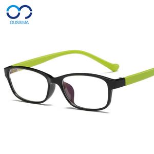 Kính cận thị của trẻ em khung TR90 kính khung siêu nhẹ chống vỡ gấp 5-12 tuổi học sinh nam và nữ có cùng đoạn 1729