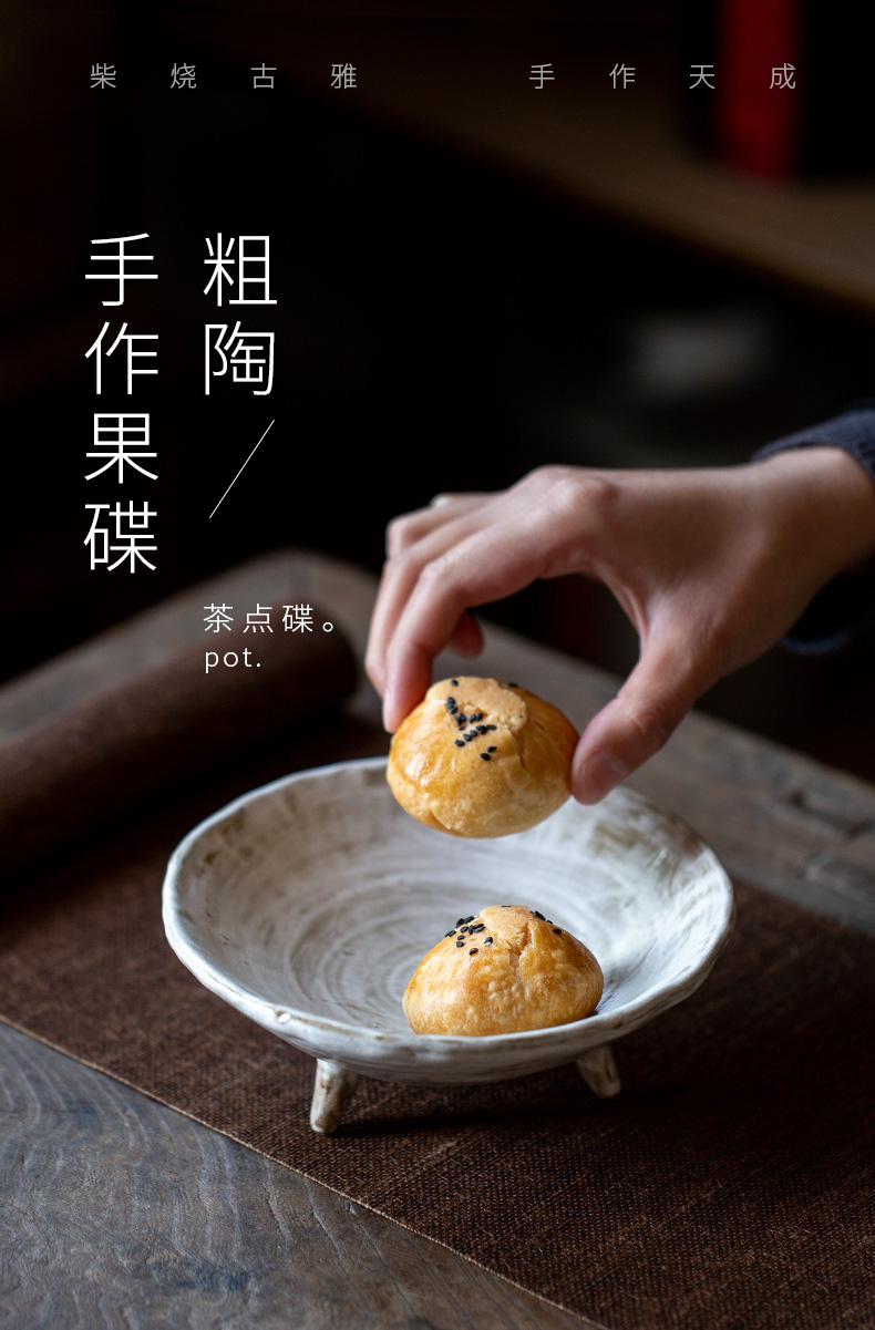 Ultimately responds to chai up change hand made ceramic best dish household compote, Japanese - style dish for the Buddha of tea all the dish