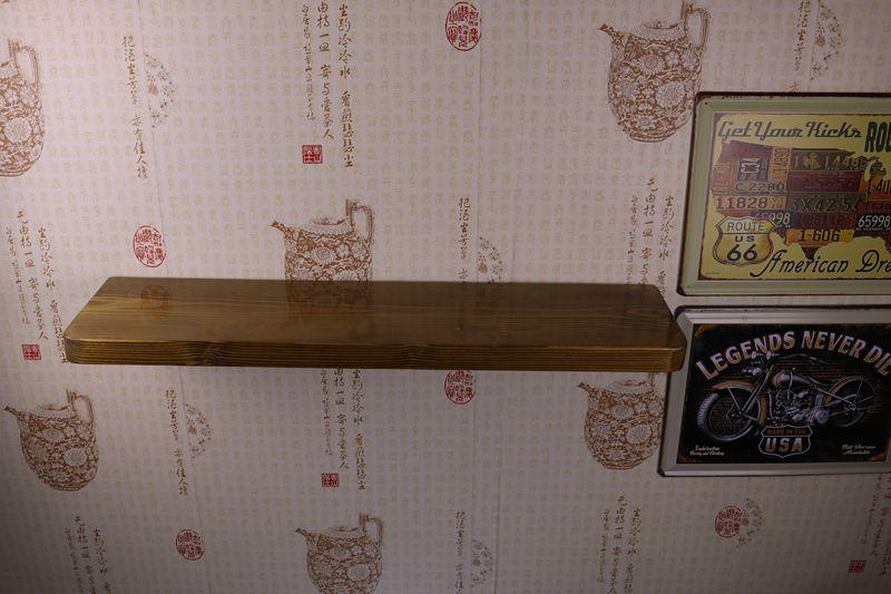 挂环保墙壁架木层板书架
