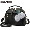Ms. small bag 2018 Korean version of the new handbags simple and fashionable on the new shoulder bag Messenger bag wild tide