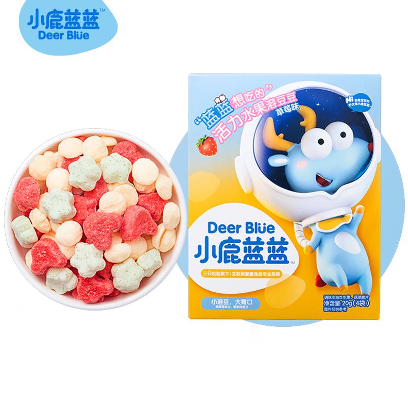 【小鹿蓝蓝】益生菌酸奶溶豆宝宝零食
