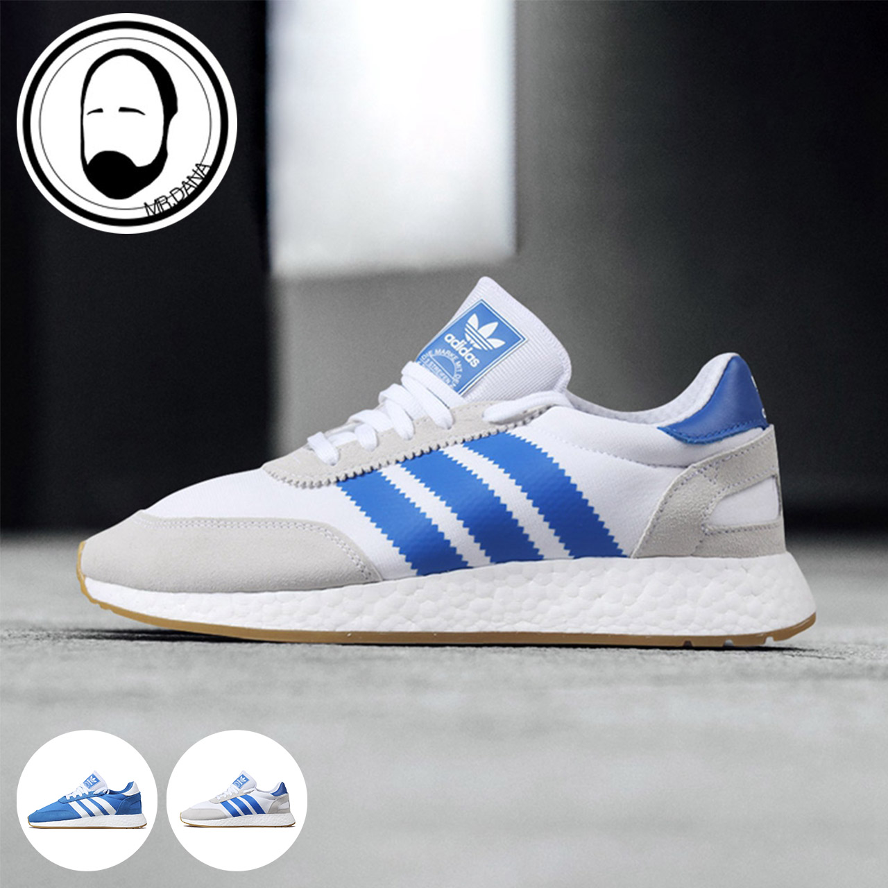 76afd0481345ae 大拿阿迪Adidas I-5923 Boost 灰蓝蓝白休闲跑鞋G54515 G54514