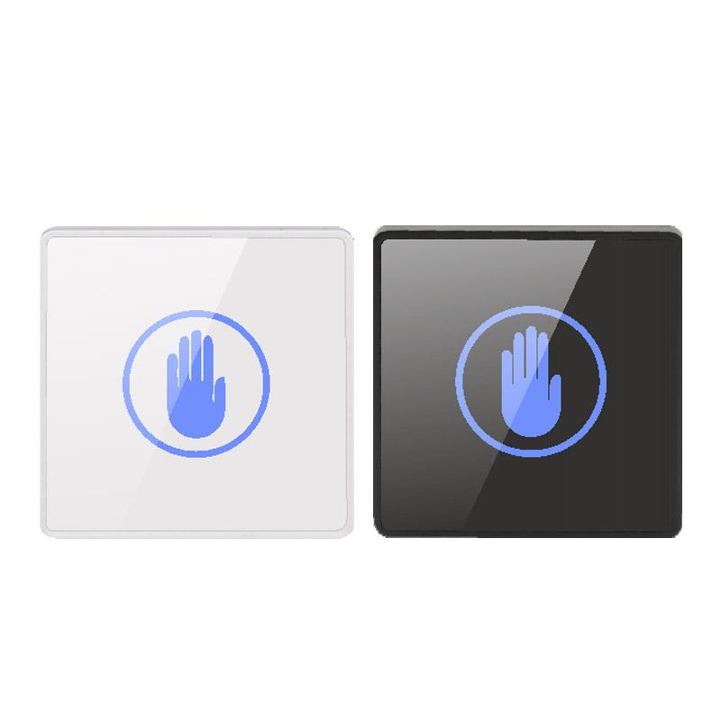 ZUCON K83非接觸式感應開關門禁系統觸摸出門按鈕遙控自動門開關