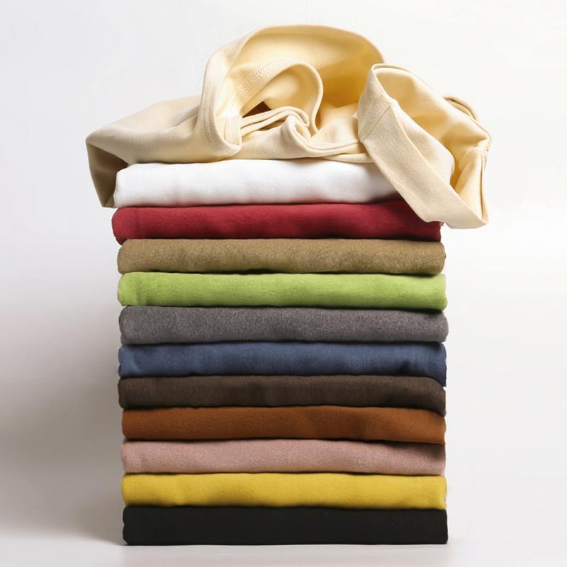 女士德绒保暖堆堆领打底衫