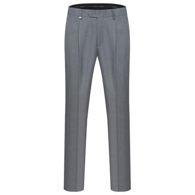 Yundun quần màu xám nam lỏng thẳng mùa hè mới trung niên của nam giới kinh doanh bình thường phù hợp với nóng phù hợp với quần nam