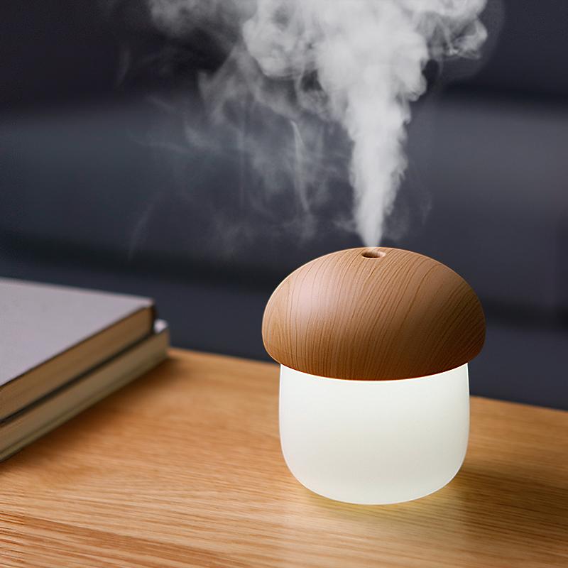 蘑菇usb迷你加湿器,简约实用小物