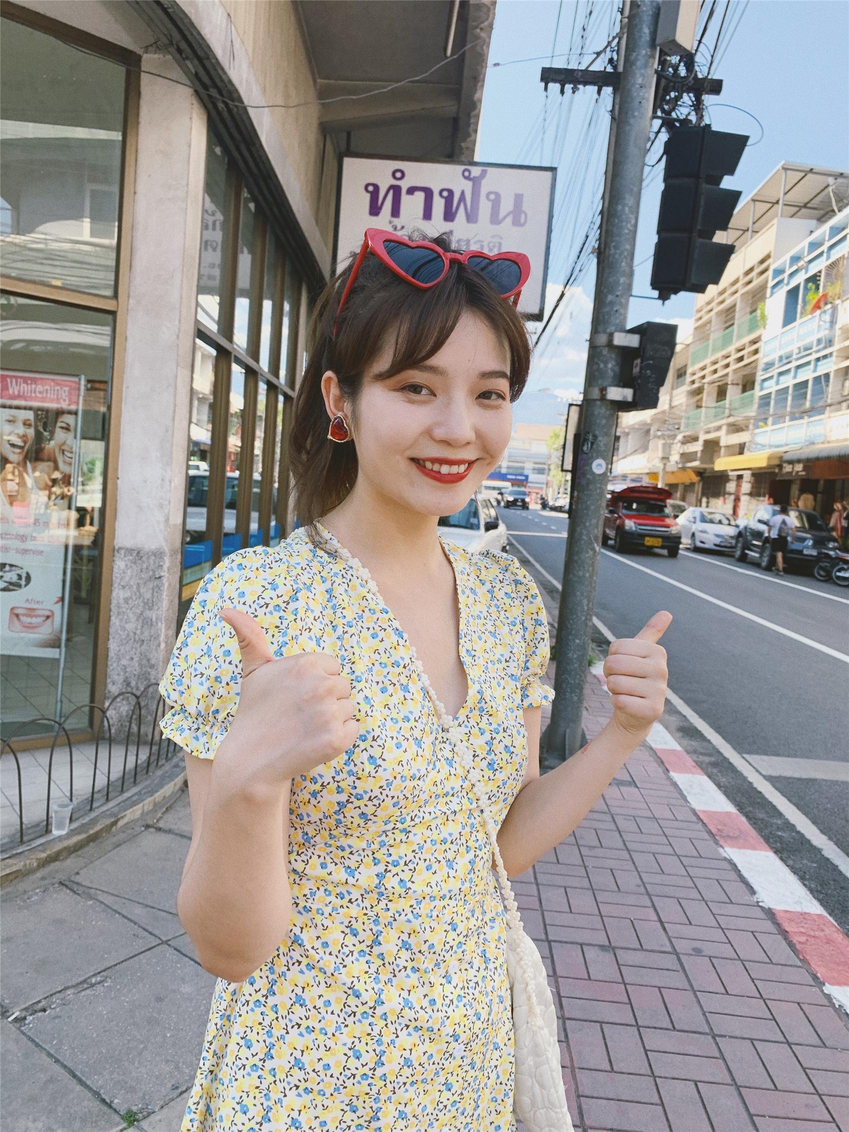 Cardamom thời gian mùa hè trứng đẻ meo 2020 mùa xuân và mùa hè cô gái retro màu vàng hoa nhỏ tươi và mỏng trang phục kỳ nghỉ - Sản phẩm HOT