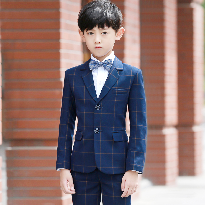 9e0dd0b282 Children s Suit Suit spring flower girl dress male Korean version of the  piano dress Boy small suit baby suit handsome