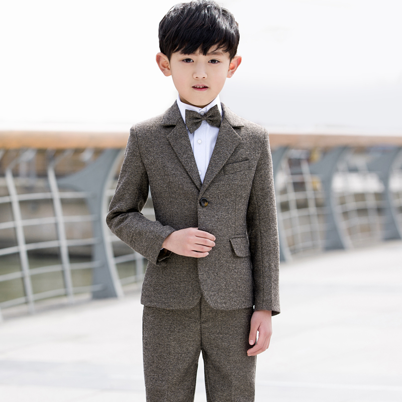 9fe9a36b9 Children s suit Boy small suit spring and autumn flower girl dress boy ...