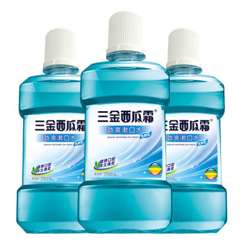专利杀菌防蛀漱口水3大瓶优惠10元包邮