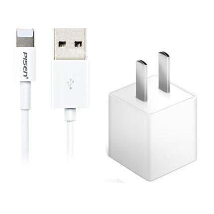 品胜苹果充电器手机ipad平板快充线iphone6s7/8plusX2a安卓充电头