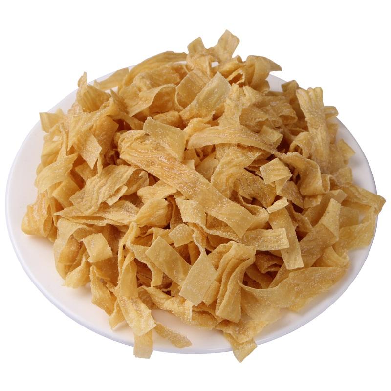 河南农家土特产加盐豆皮手工人造肉干豆皮油豆腐皮蛋白肉干货2斤