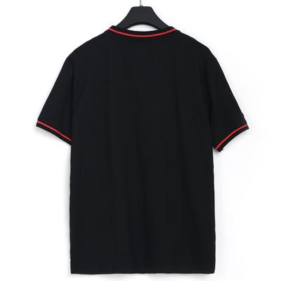 Wei Chen tide thương hiệu kích thước lớn nam mùa hè ngắn tay T-Shirt người đàn ông béo cộng với phân bón để tăng lỏng ve áo nửa tay POLO áo sơ mi nam áo thun polo nam Polo