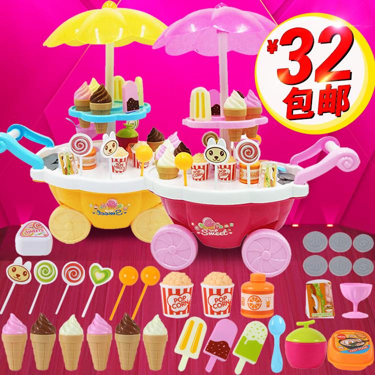 Ребенок мороженое игрушка от себя конфеты автомобиль девушка живая домой домой мороженое день рождения подарок мини музыка, свет