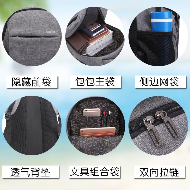 639b19305b46 Рюкзак мужской рюкзак женщина портфель корейская волна колледж ...