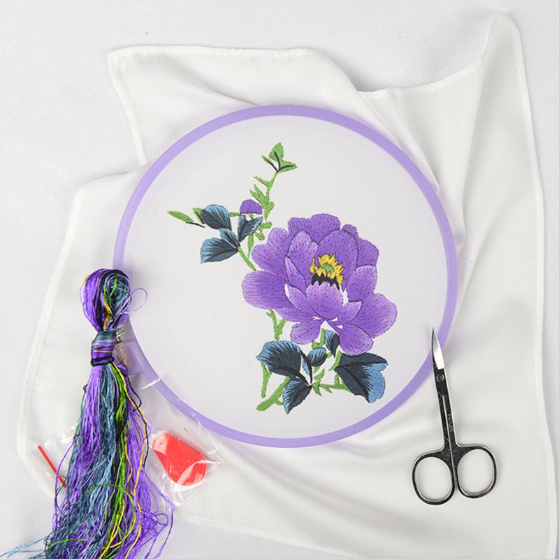 Su вышивка diy новичок комплект инструмент традиционный материал платка пакет вводить дверь ручная работа Вышитая вышивка, старинная вышивка, дий