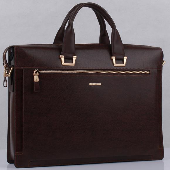 真皮商务男包公文包牛皮男士手提包横款电脑包男款公事包律师包包
