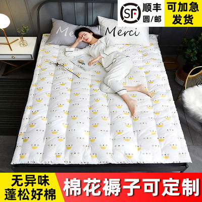 Pure cotton padding bed the bed pieces quilt core tatami single double thickened student dormitory bedding