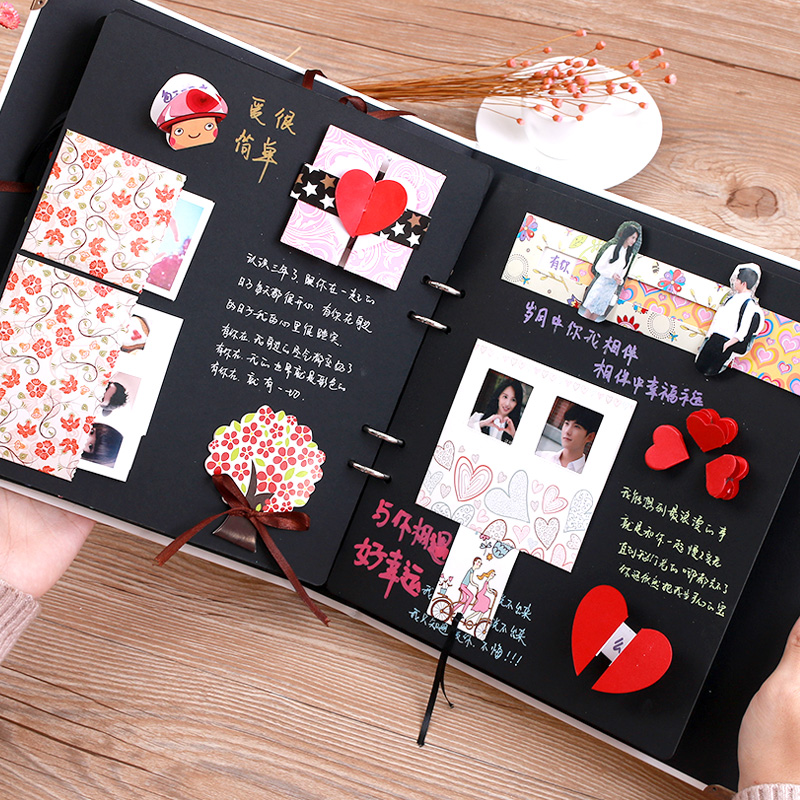 Organizer Card Album Diy Handmade Gift Paste Stickers Baby Album